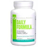 Витамины и минералы, Universal Nutrition, Daily Formula, 100 таблеток