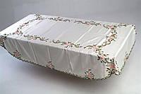 Скатерть на овальный стол 160*240 нежность