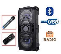 Портативная колонка с микрофоном TMS-601 / 50W (USB/FM/Bluetooth), фото 1