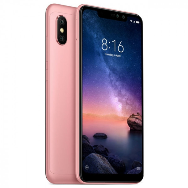 Смартфон Xiaomi Redmi Note 6 Pro 4/64GB Rose Gold