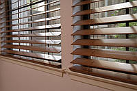 Жалюзи для окон бамбуковые и деревянные 50мм, горизонтальные.