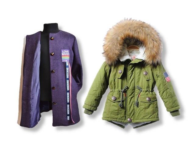 Куртки пальто комбинезоны весна-осень детские