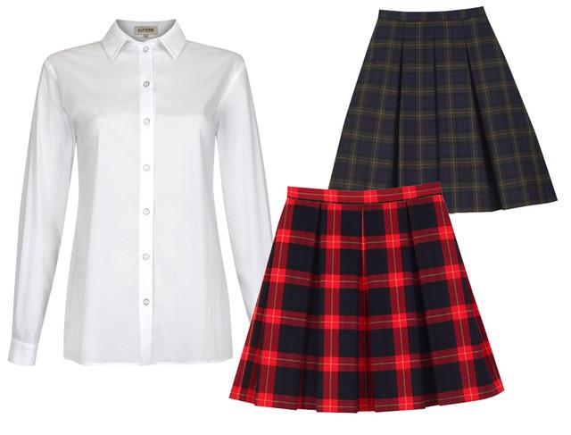 Школьная форма, Школьная одежда для девочек 2020