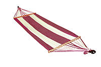 Гамак А1013 Бело-синий (ОСТ-ФРАН ТМ) Бежево-бордовый