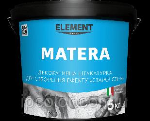 MATERA ELEMENT DECOR 5 кг Декоративная штукатурка для внутренних работ