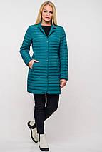 Женская демисезонная удлиненная куртка Гледис р.42-54, фото 3