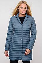 Женская демисезонная удлиненная куртка Гледис р.42-54, фото 2