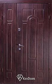 Полуторные  входные двери Арка винорит на улицу