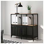 IKEA FJALLBO Стелаж, чорний (503.392.92), фото 4