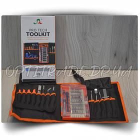 """Набор инструментов """"TOOLKIT"""" 70 in 1 для разборки телефонов и быт.техники в чехле"""