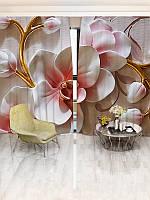 3D Фотошторы Walldeco Орхидеи (35492_1_ 3)