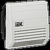 Вентилятор с фильтром 21 куб.м./час IP55 (YCE-FF-021-55) IEK