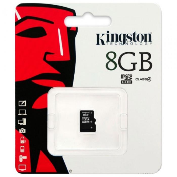 Карта памяти MicroSD Kingston 8Gb 4 class original