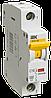 Автоматичесий выключатель ВА 47-60 1Р 6А 6 кА х-ка C (MVA41-1-006-C) IEK
