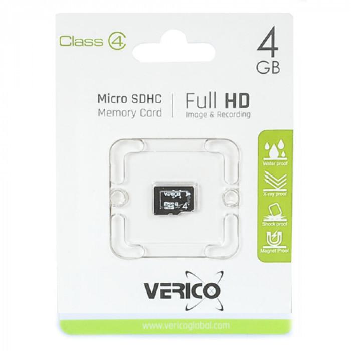 Карта памяти Verico Micro SDHC 4 gb