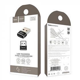 Переходник Hoco UA6 Type-C to USB