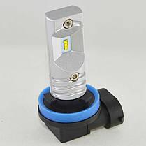 LED лампа в основные фонари серии SLP LED Цоколь Н11/H8/H9, 30W, 800 Люмен/Лампа, фото 2