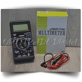 Мультиметр многофункц.циф. со звуком и дисплеем DT-890D