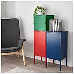 IKEA LIXHULT Шкаф, красный военно-морской флот, темно-зеленый  (292.486.80), фото 2