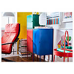 IKEA LIXHULT Шкаф, красный военно-морской флот, темно-зеленый  (292.486.80), фото 5
