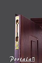 Двустворчатые входные двери Арка винорит на улицу, фото 3