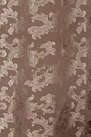 Ткань для Штор из атласа  орлеан  бежевый