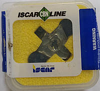 WNGA080408 Эльбор  (Кубический нитрид бора) Твердосплавная пластина для токарного резца Iscar