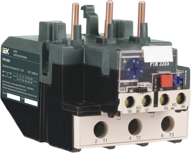 Реле РТИ-3361 электротепловое 55-70 (DRT30-0055-0070) IEK