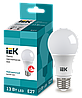 Лампа светодиодная ECO A60 шар 13Вт 230В 4000К E27 (LLE-A60-13-230-40-E27) ІЕК