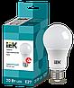 Лампа светодиодная ECO A60 шар 20Вт 230В 4000К E27 (LLE-A60-20-230-40-E27) IEK