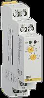 Реле тока ORI. 0,5-5 А. 24-240 В AC / 24 В DC (ORI-01-5) ІЕК