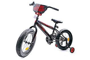 Велосипед Екстрим Байк двухколесный 16 дюймов, фетбайк 181645, ножной тормоз