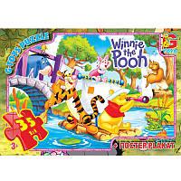 "Пазли ТМ ""G-Toys"" із серії ""Вінні-Пух"", 35 елементів VP003 ТМ ""G-Toys"""