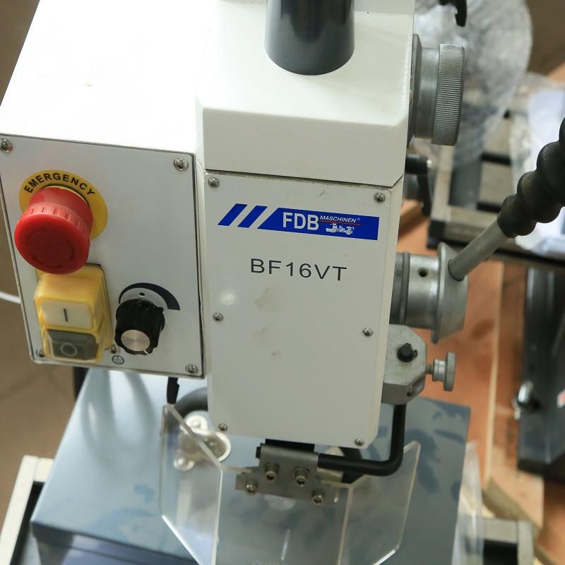 Сверлильно-фрезерный станок FDB Maschinen BF 16 VT