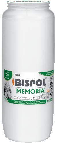 Вкладыш белый масляный Bispol 6 дней 6,7 х 17,5 см (WO11-090)