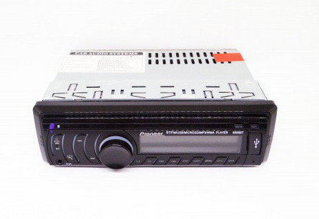 Магнитола автомобильная Pioneer 8506 - Usb+RGB подсветка+Fm+Aux+ пульт