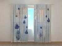 Фотошторы Карта 250 х 260 см фото штори с рисунком шторы в детскую