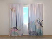 Фотошторы Нежность гор 250 х 260 см фото штори с рисунком шторы в детскую