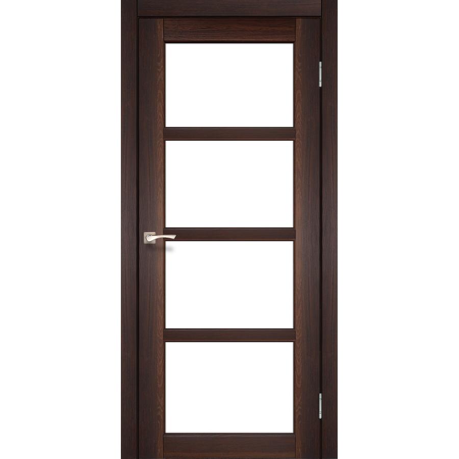 Двери KORFAD AP-02 Полотно+коробка+2 к-та наличников+добор 100мм, эко-шпон