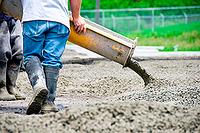 Прием бетона (доставка бетона миксером)
