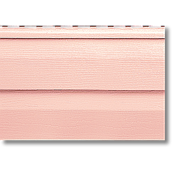 Сайдинг виниловый Альта-профиль,3.66м.дл.-0.232м.ш. цвет земляничный