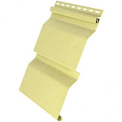 Сайдинг виниловый D4,4 Grand Line® AMERIKA Желтый