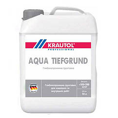Грунтовка глубокого проникновения Krautol Aqua Tiefgrund 10 л.