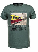 Мужская футболка GLO-Story,Венгрия, фото 3