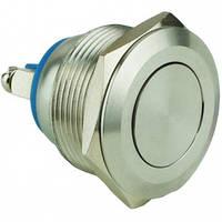 Кнопка металл 19мм плоска под болт без фиксации IP67 NO TY19B-P10F