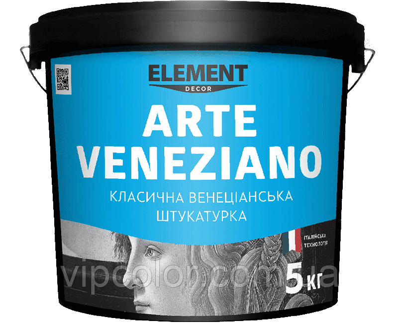 ELEMENT DECOR ARTE VENEZIANO 15 кг Венецианская штукатурка для внутренних работ