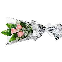 Букет мыльный из роз на подарок к празднику
