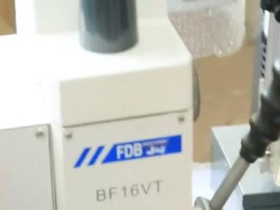 Производительный электрический двигатель сверлильно-фрезерного станка FDB Maschinen BF 16 VT