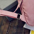 Набор рюкзак с ушками Мышка с кошельком Topshine розовый (466), фото 4