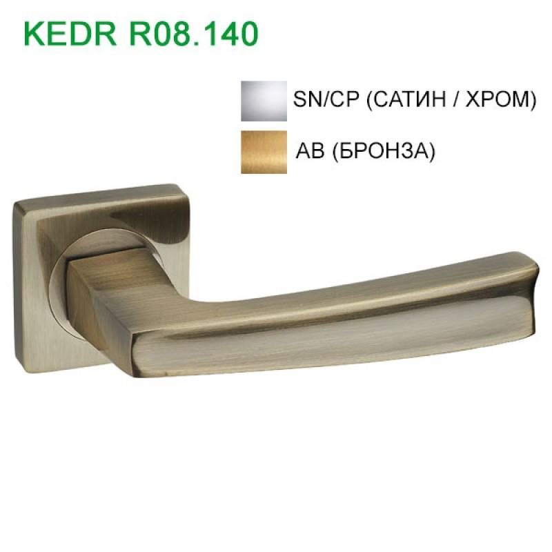 Ручка дверная KEDR (Кедр) R08.140